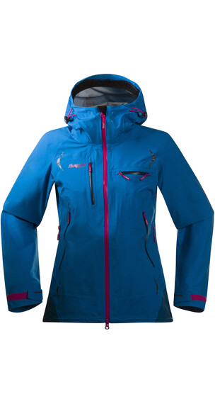 Bergans Storen Lady Jacket Light sea blue